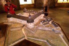 Model af Borgholm slot